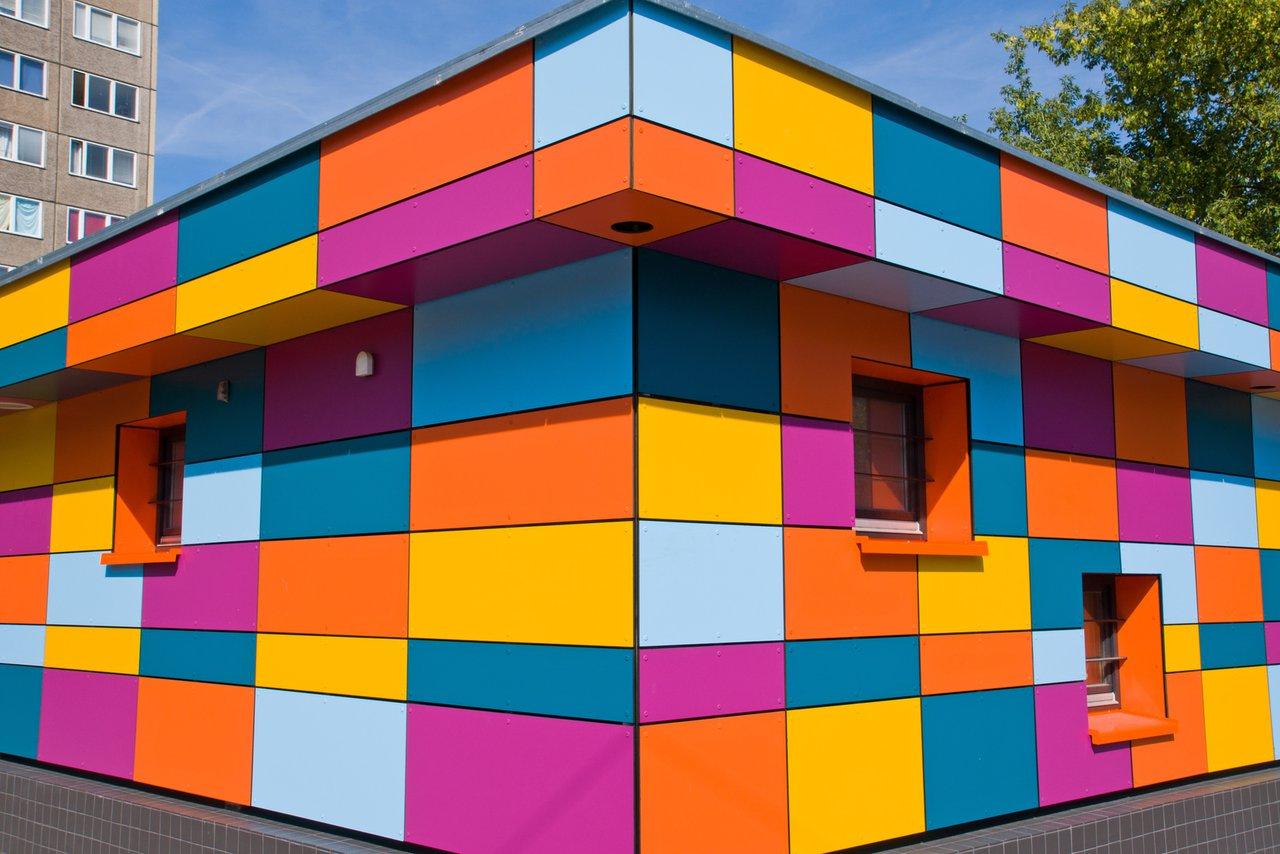 Bezaubernd Aussenfassade Farben Sammlung Von Hauptsache Bunt – Individuelle Fassadengestaltung Mit Farbe